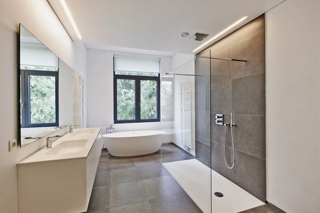 modern bathroom builders brisbane